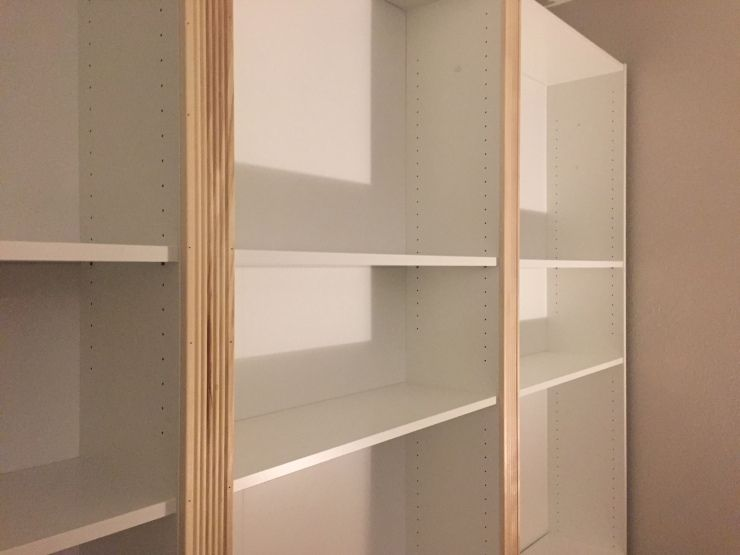 My Ikea 'Billy' Bookcase Hack for under $500 images