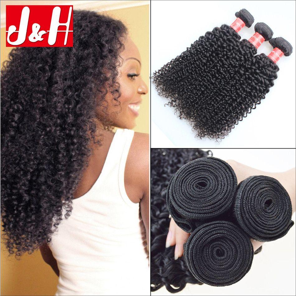 7a Top Brazilian Kinky Curly Hair Weave 3bundles 100 Unprocessed