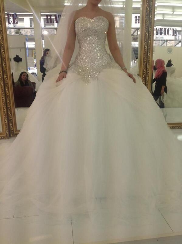 Dream princess wedding dress dream wedding ideas for Cute princess wedding dresses