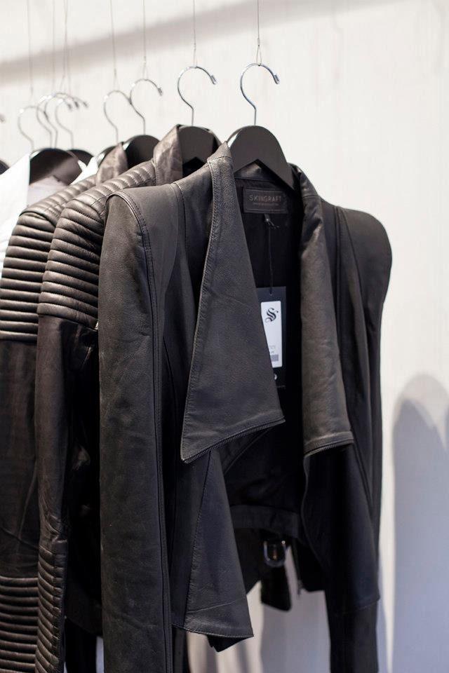 "dreamsinmonochrome: "" Skingraft - Leather Jacket Detail """