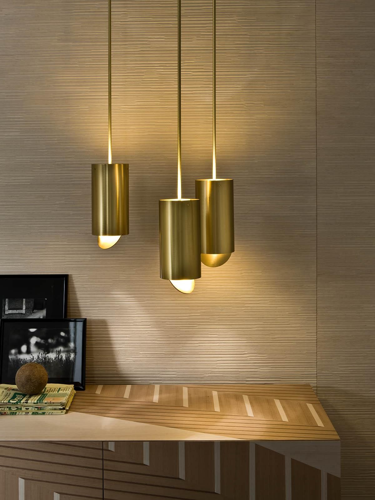 Designer Tischleuchten Lighting Tubo Sospensione Mf 40 Laurameroni Resource