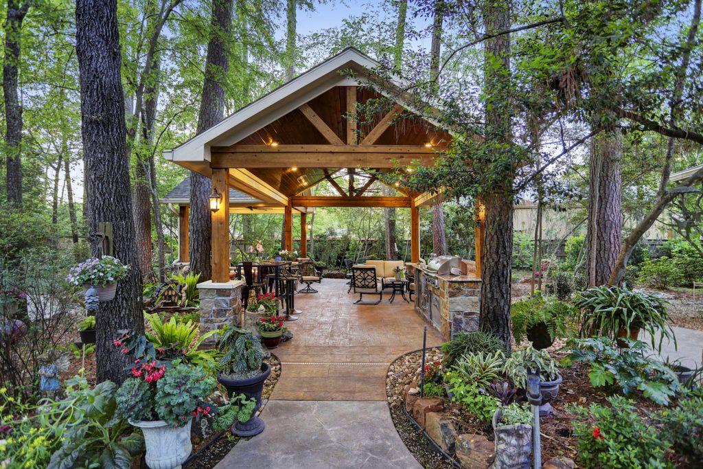 Built In Seating Houston Dallas Katy Texas Custom Patios Patio Outdoor Retreat Outdoor