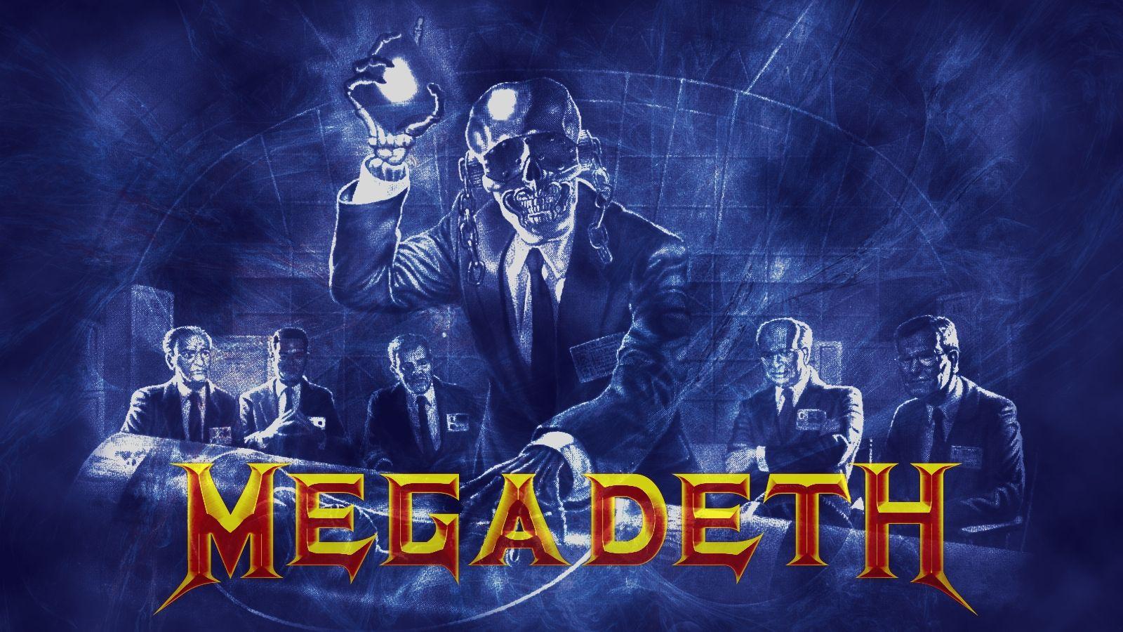 Megadeth Wallpaper Desktop Rust In Peace Metal Music Bands Art