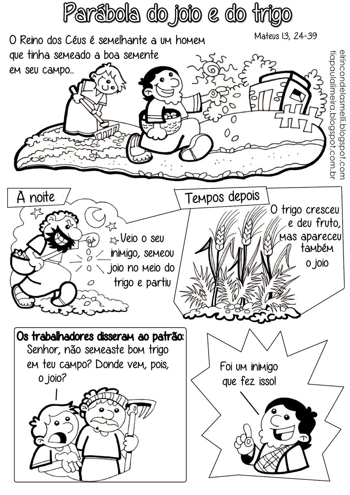 Um blog sobre evangelização infantil católica | Parábolas ...