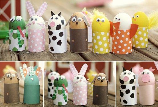Animales Con Huevos Kidszone Easter Kids Easter Crafts For Kids Egg Crafts