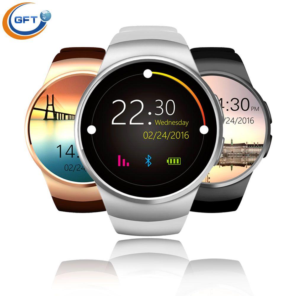 Gft Kw18 Neueste Bluetooth Smart Uhr Mit Sim Karte Smartwatch Fur Apple Samsung Mann Business Stil Mit Pulsmesser With Images Smartphone Health Smart Watch Wearable Device