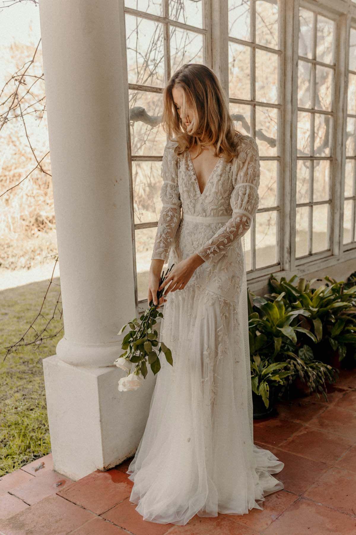 Bo Luca Spring Summer 2020 Wedding Gowns Polka Dot Wedding Wedding Dresses Boho Wedding Dress Polka Dot Wedding Dress [ 1800 x 1200 Pixel ]