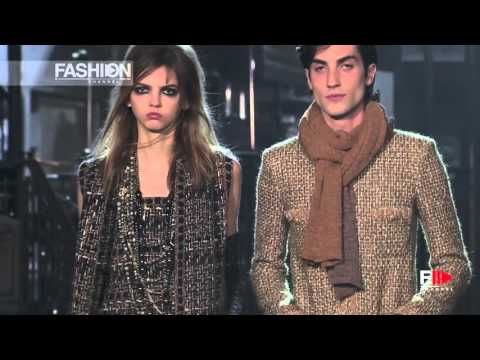 CHANEL Metiers D'Art Paris Rome Pre Fall 2016 by Fashion Channel - YouTube