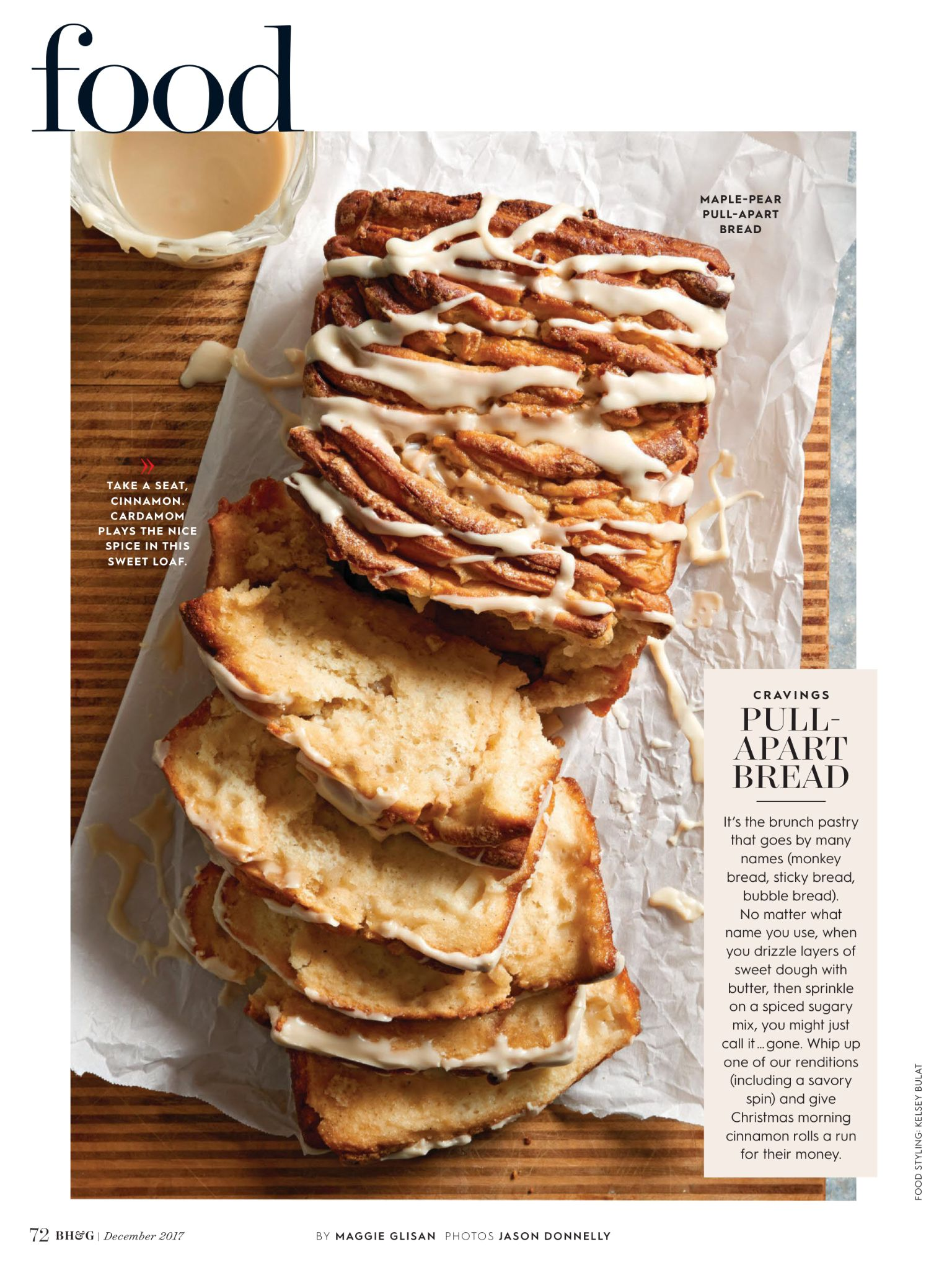 Cravings From Better Homes And Gardens December 2017 Read It On The Texture App Unlimited Access To 200 Top M Brunch Pastries Sweet Dough Pull Apart Bread