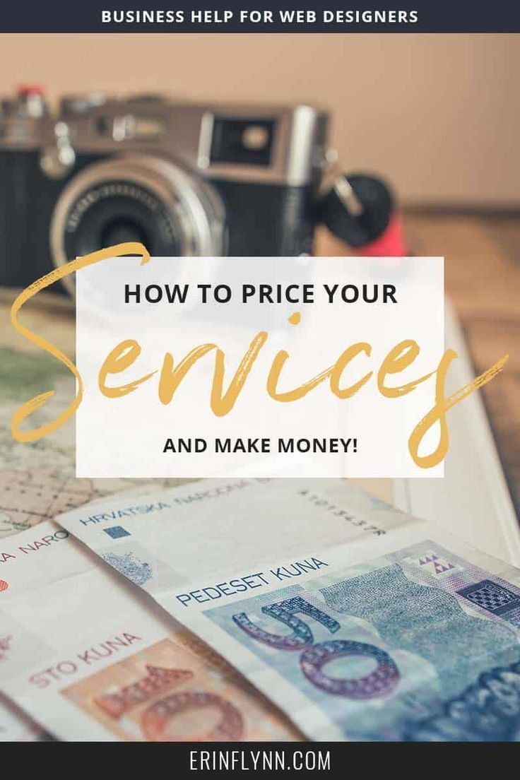 How To Price Web Design Services And Make Money Web Design Services Web Design Service Design