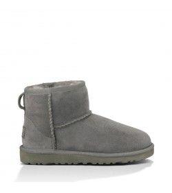 UGG Kids Classic Mini Boots Grey