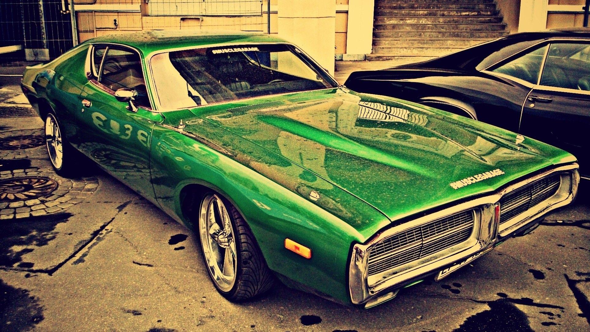 Vintage Car Car Green Cars Wallpaper Car Cars Dodge