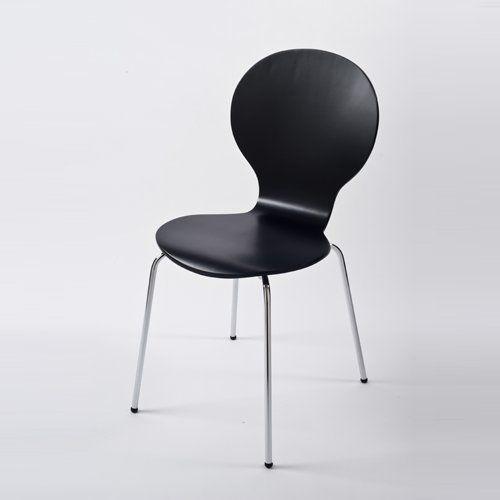 Stuhl Klassiker Holz design klassiker stuhl stockholm stapelbar schwarz holz