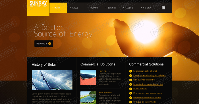 solar energy business web design ideas website designers melbourne - Web Design Ideas