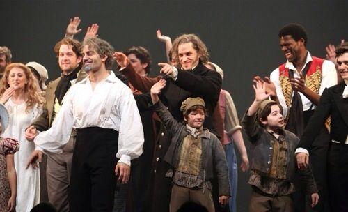 Les Mis Curtain Call Les Miserables Concert Theatre