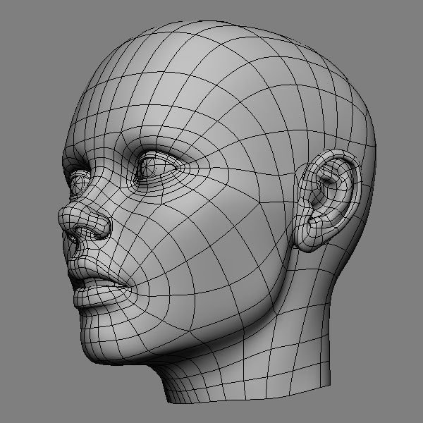 1000+ images about 3D/ Wireframe/ Characters on Pinterest ...