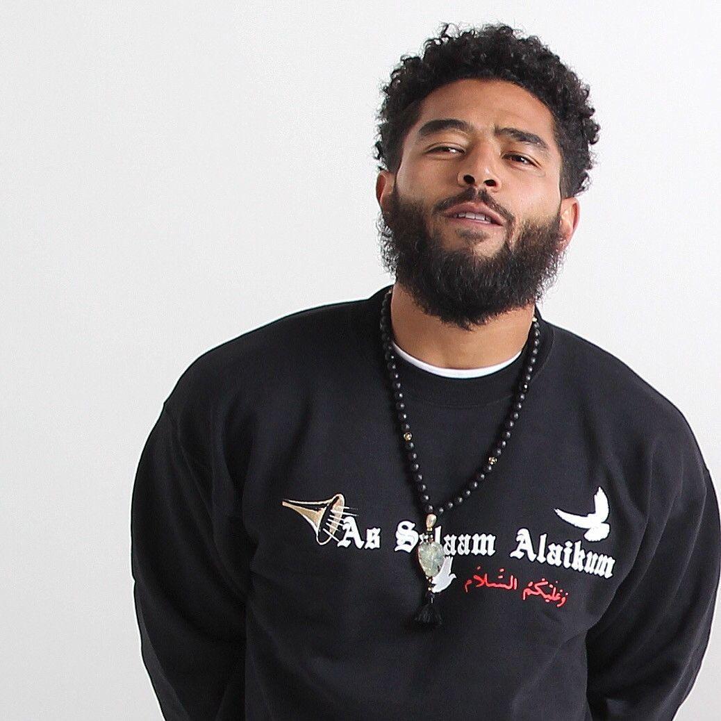 Black Asa #TrumpetPeace Pullover