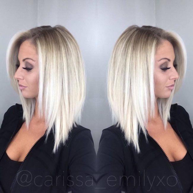Coupe au carré court 20 modèles pour vous blond hairs