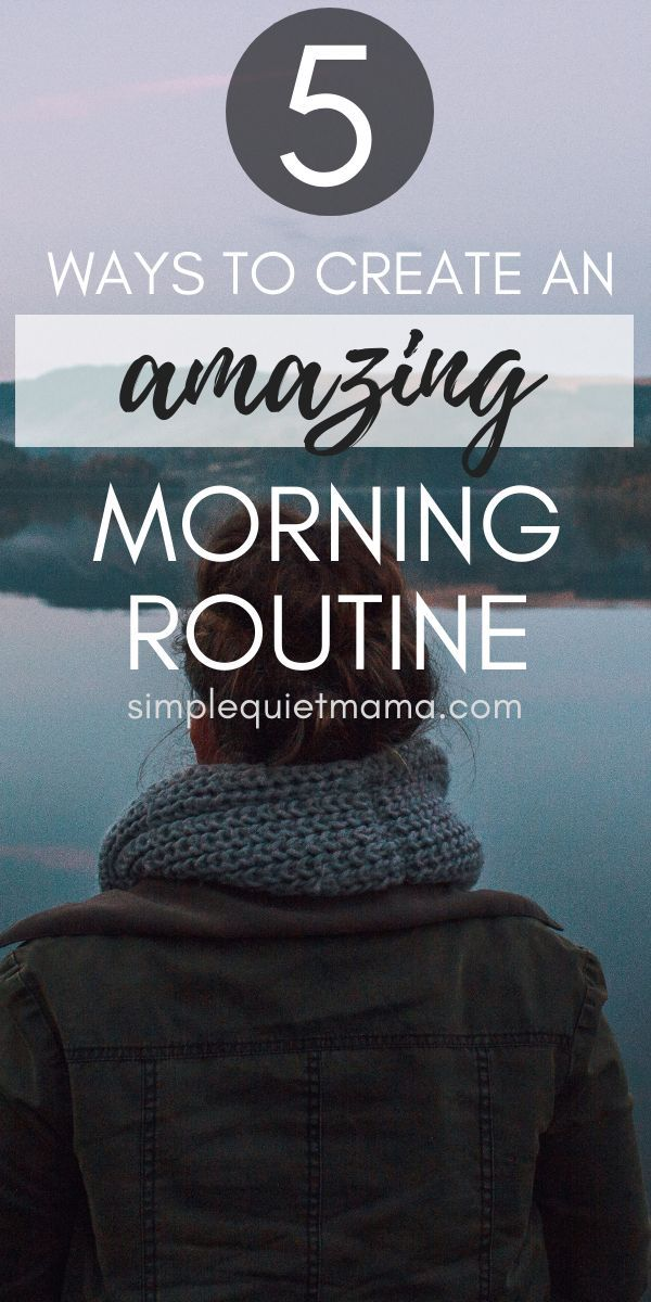 How to Create the Perfect Morning Routine #morningroutine