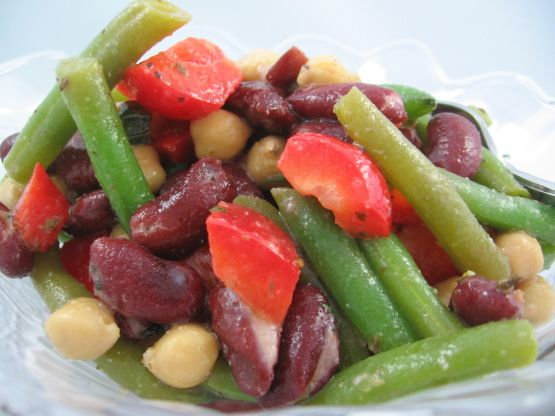 3 Bean Salad Recipe No Sugar