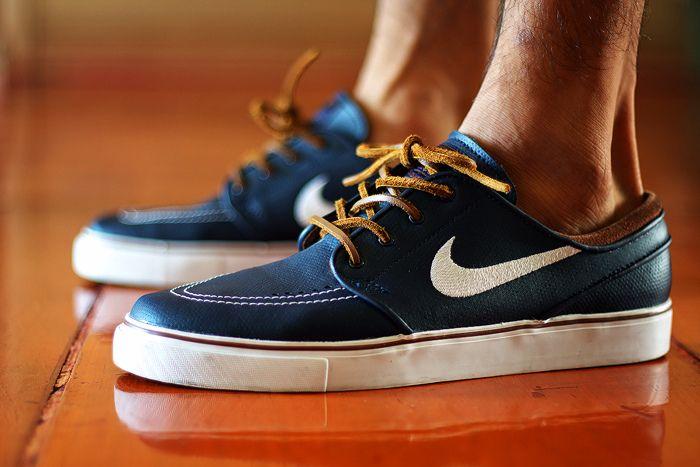Janoski Obsidian Leather Nike Sb Janoski Nike Sb Sneakers Nike