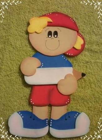 Resultado De Imagen Para Recuerdos Para Niños De Kinder En Goma Eva Animal Crafts Paper Punch Art Class Decoration