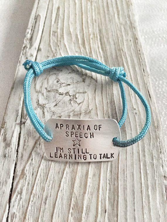 Apraxia Of Sch Bracelet Special Needs Child Id
