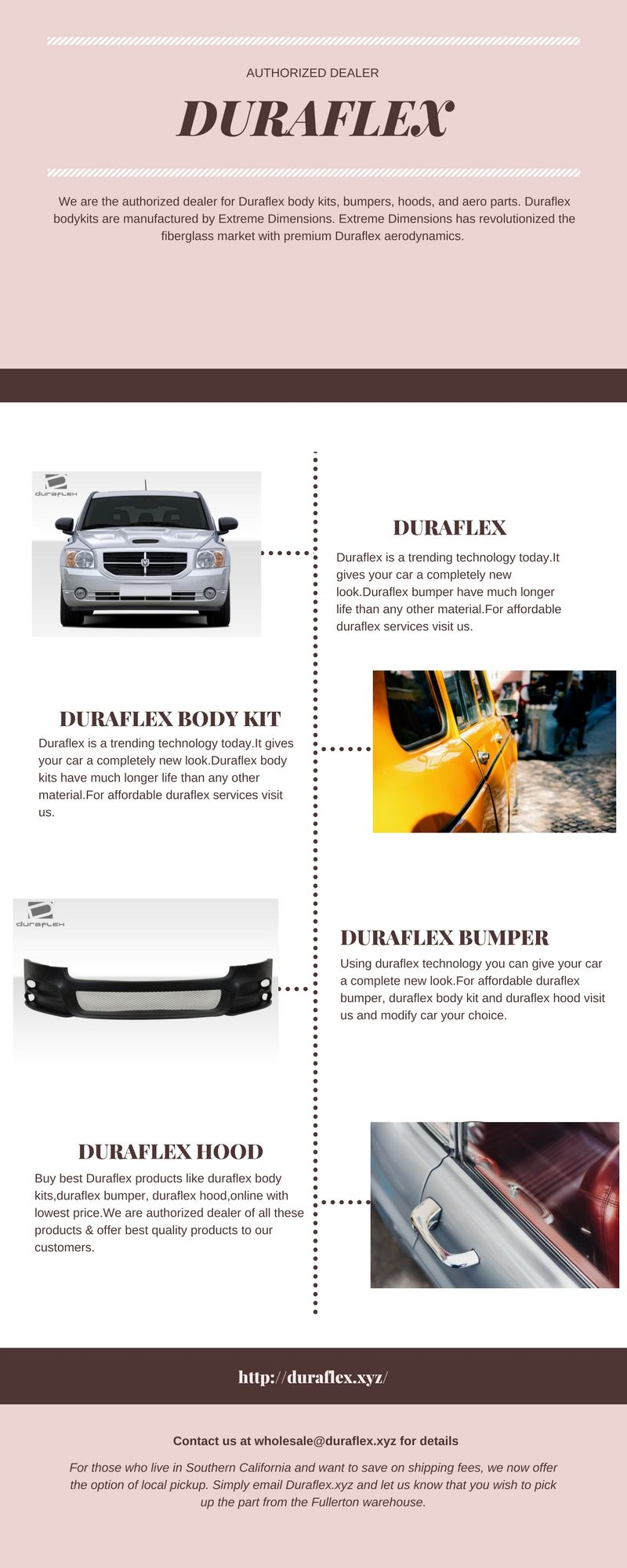 Buy best Duraflex products like duraflex body kits,duraflex bumper