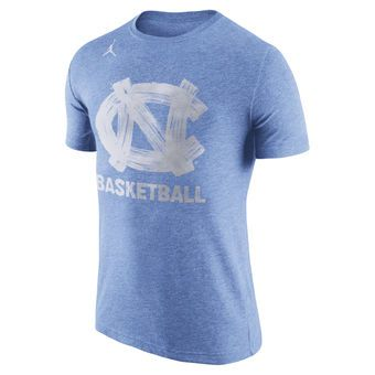3a7574950f5f Brand Jordan North Carolina Tar Heels Carolina Blue Basketball Tri-Blend T- Shirt #tarheels #unc #northcarolina