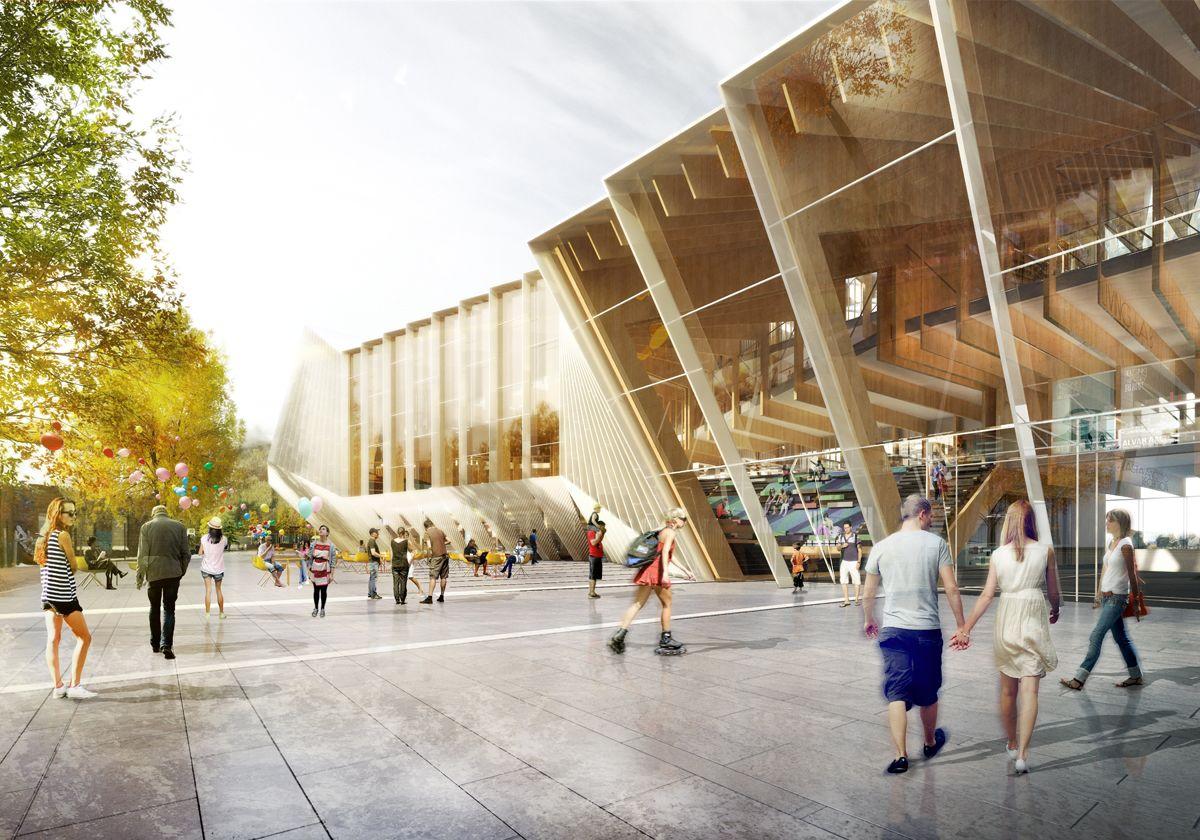Second Stage Helsinki Central Library International Design