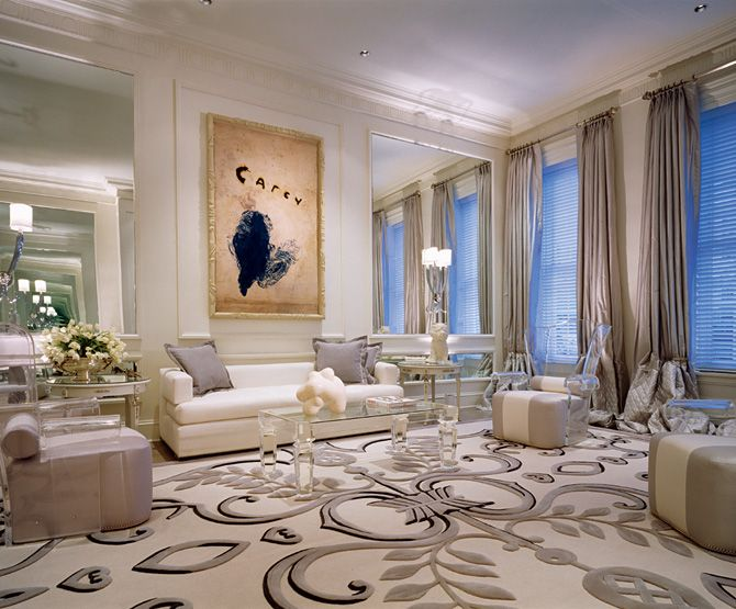 Contemporary With A Traditional Flair. Interior Design By Geoffrey Bradfield
