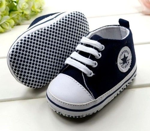 converse shoes high tops boys. details about new converse soft sole baby boy girl navy high top crib shoe age 12-15 mths only converse shoes tops boys c