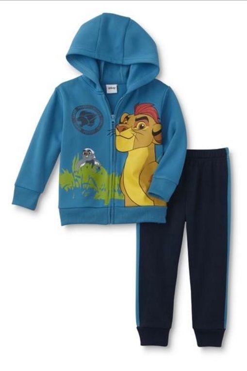 b0cdba2064b0 Lion Guard KION Toddler Boy s 5T NeW Zip-up Hoodie Jacket and ...