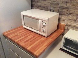 Robot Check Kitschy Kitchen Butcher Block Laminate Countertops
