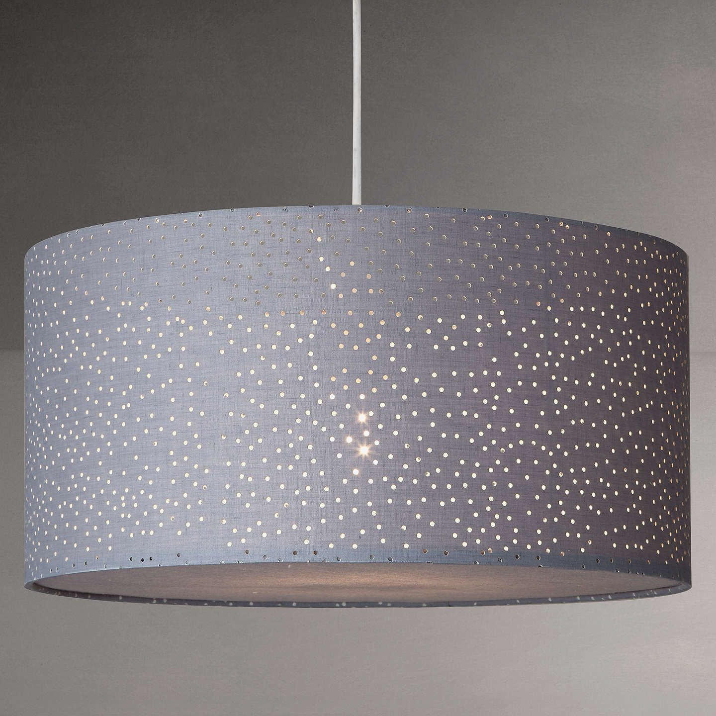 John Lewis Partners Alice Starry Sky Easy To Fit Ceiling Shade White Ceiling Shades Ceiling Light Shades Bedroom Light Shades