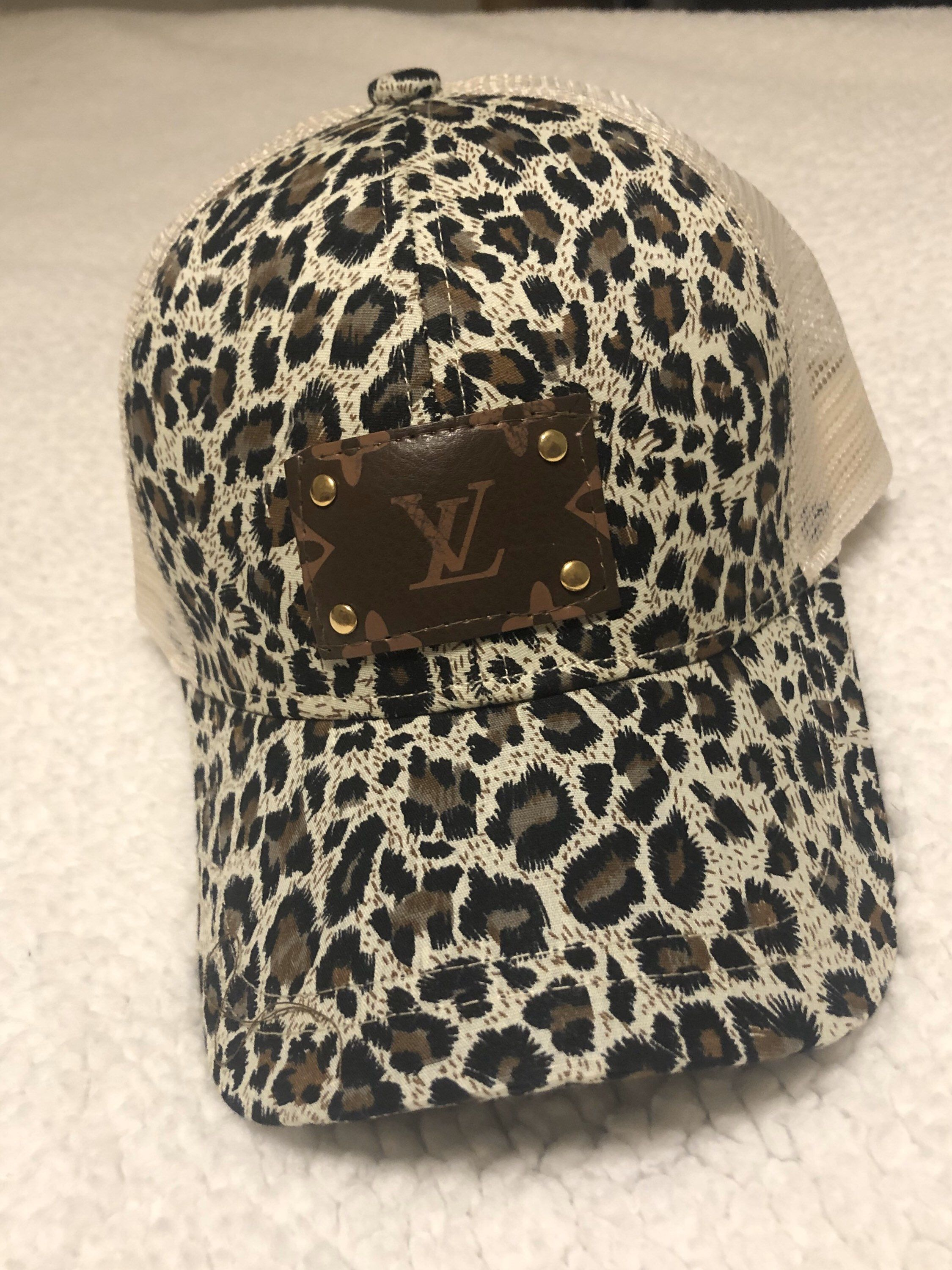 Excited To Share This Item From My Etsy Shop Adorable Louis Vuitton Ball Cap Accessories Hat Upcycledlv Louis Vuitton Hat Ball Cap Upcycled Louis Vuitton