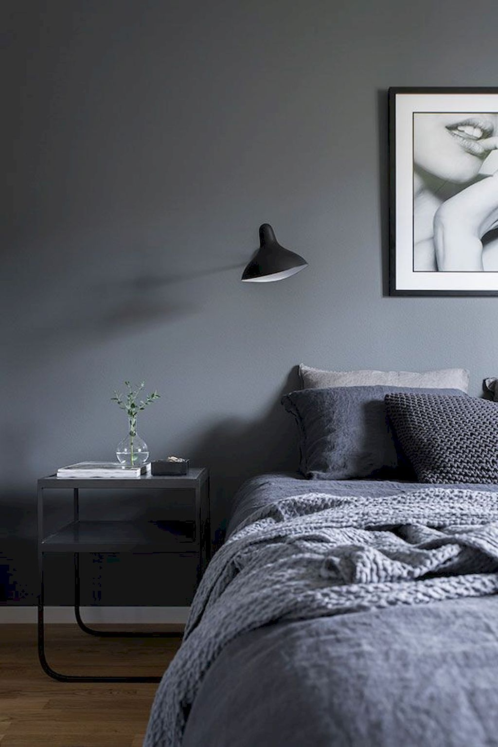 60 Simple And Elegance Scandinavian Bedroom Designs Trends. Swedish HomeGrey  ...