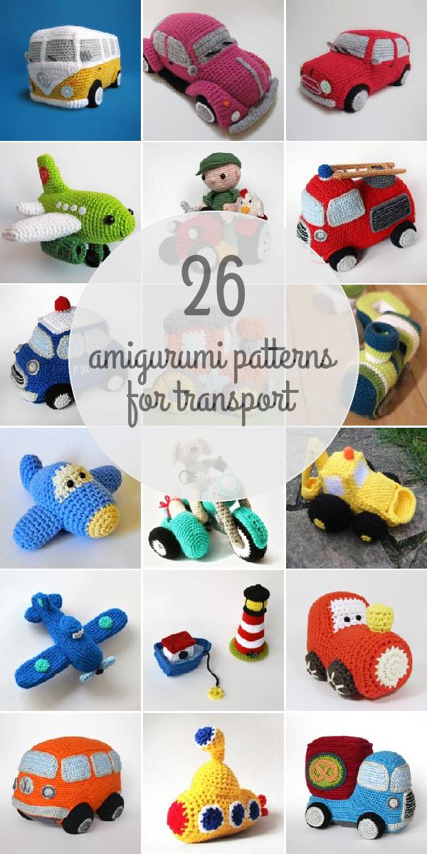 Amigurumi Patterns For Transport | amigurumi | Pinterest | Amigurumi ...