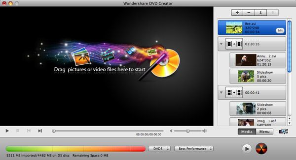 iDVD Alternative Mac: to create and burn video to DVD better