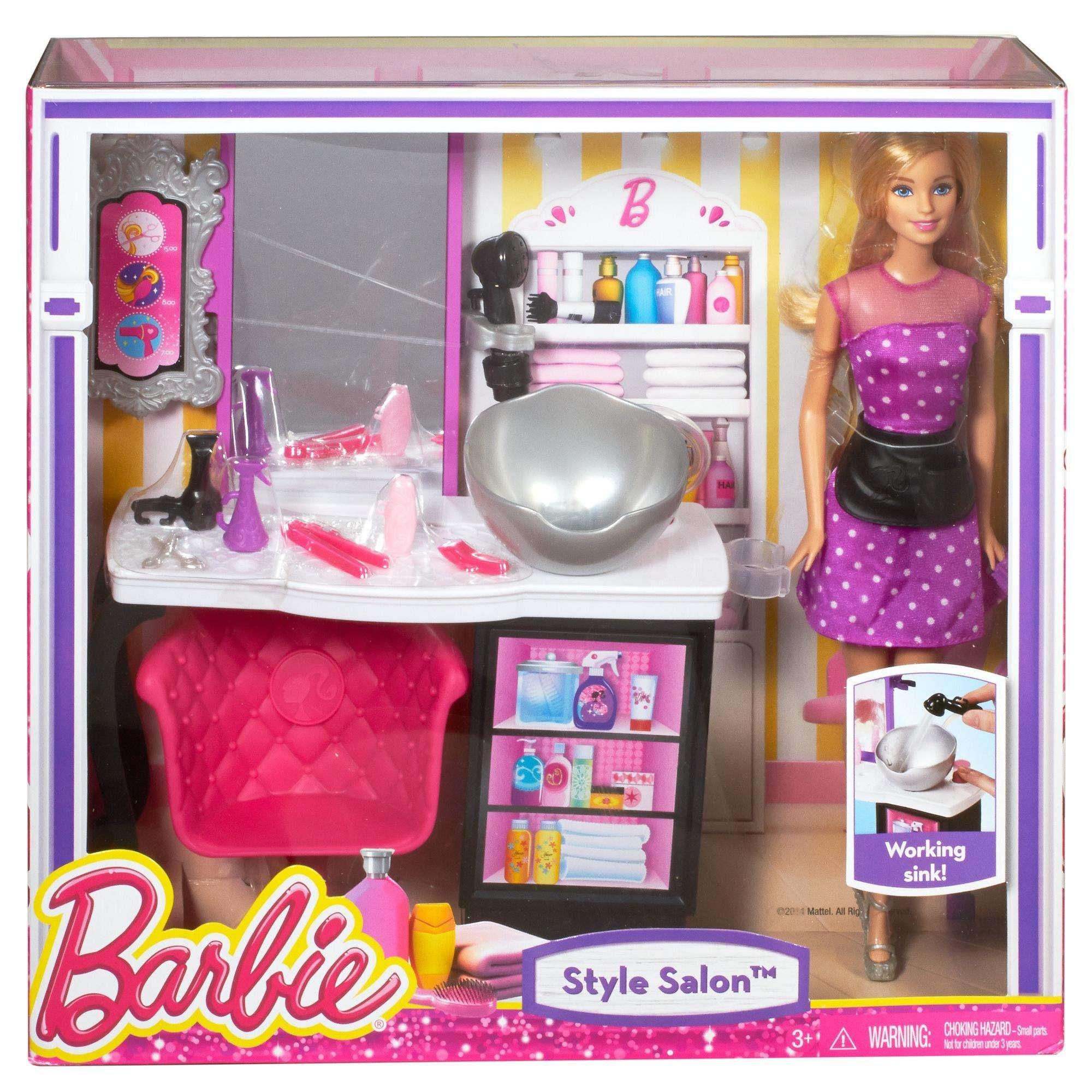Barbie Doll Beauty Parlour Song In 2020 Barbie Sets Barbie Barbie Shop
