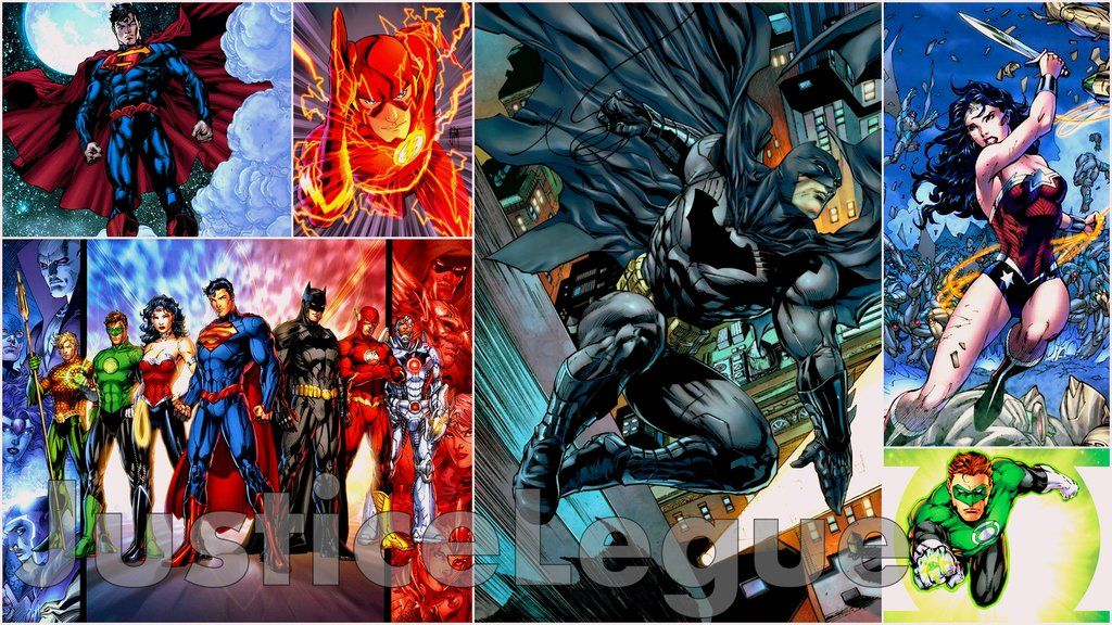 Justice League New 52 | The New 52 Justice League Wallpaper by ...