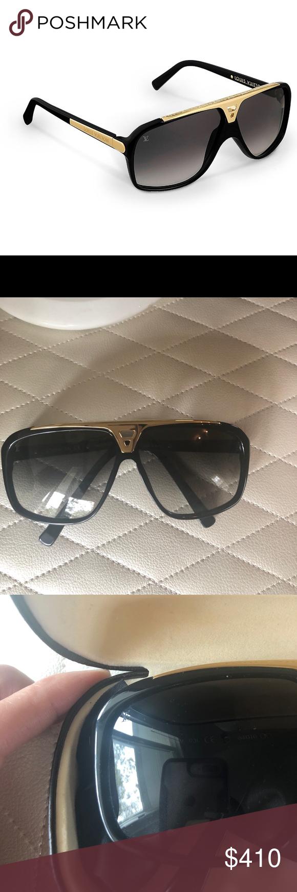 8bcccff60b28 Louis Vuitton men s sunglasses worn once 100% authentic like a new Louis  Vuitton Accessories Sunglasses