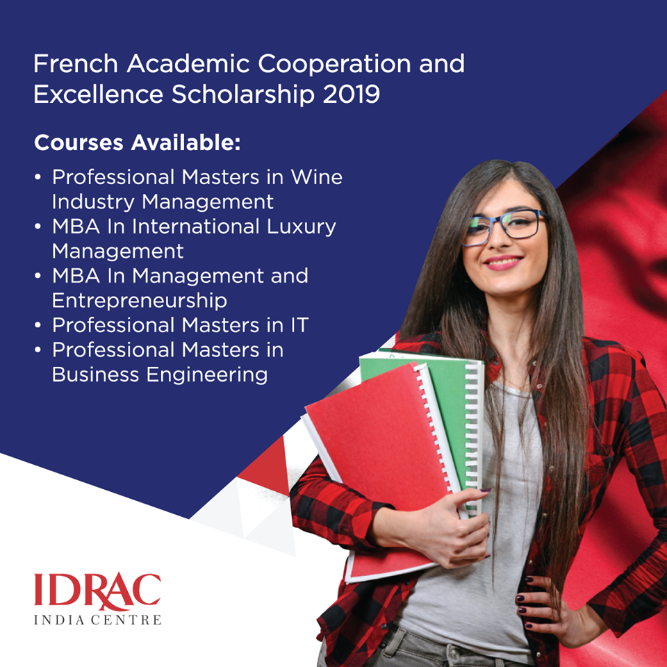 Take Your Career To New Heights With A Master S Degree From Idrac Business School France Appl Scholarships How To Get Scholarships International Scholarships