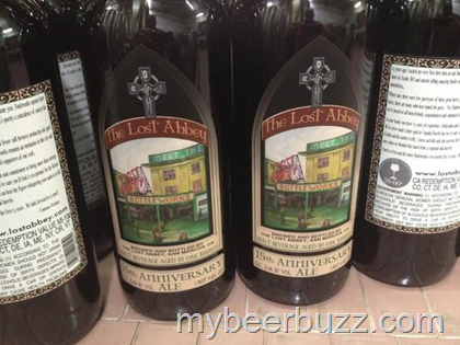 mybeerbuzz.com - Bringing Good Beers & Good People Together...: Lost Abbey - 15th Anniversary Ale Packaging Today
