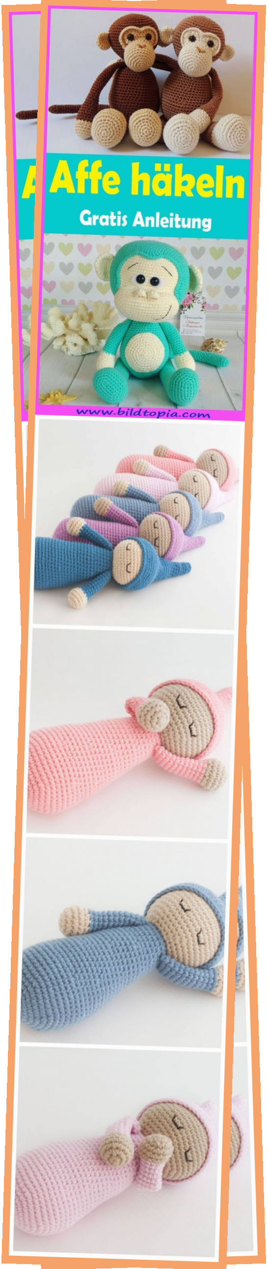 Photo of Monkey Crochet Free Simple Instructions – Crochet – Instructions – Af