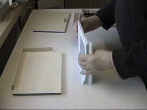 buch binden teil 1 2 schnell billig und problemlos binden kunstwerk buchbinden. Black Bedroom Furniture Sets. Home Design Ideas