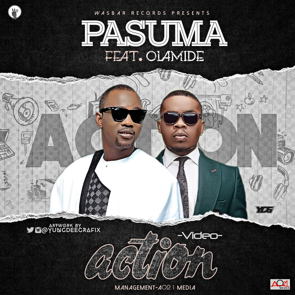 Download Mp3 Video Pasuma Wonder Feat Olamide Action With