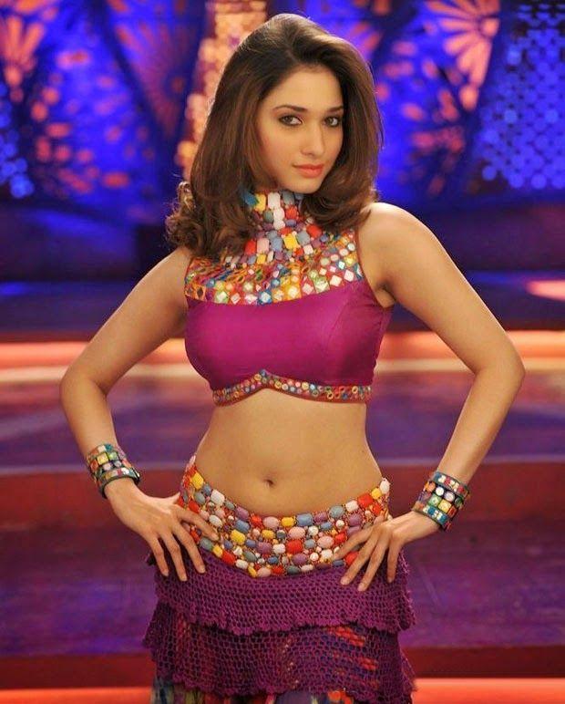 Beautiful Indian Bollywood Actress All Time: Tamanna Bhatia Hot Navel Show, Tamanna Spicy Navel Show Of