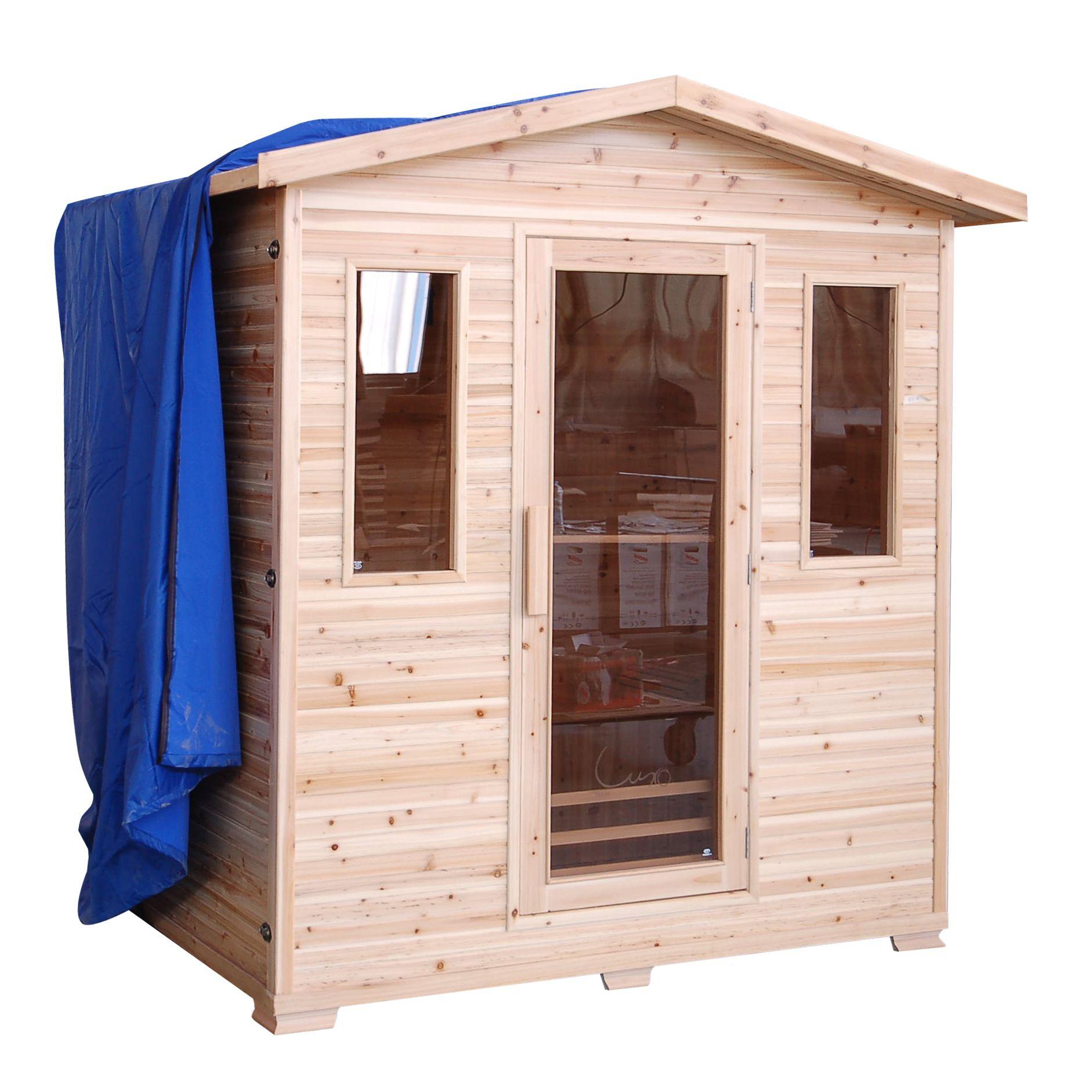 SunRay HL400D Cayenne Infrared Sauna Outdoor sauna