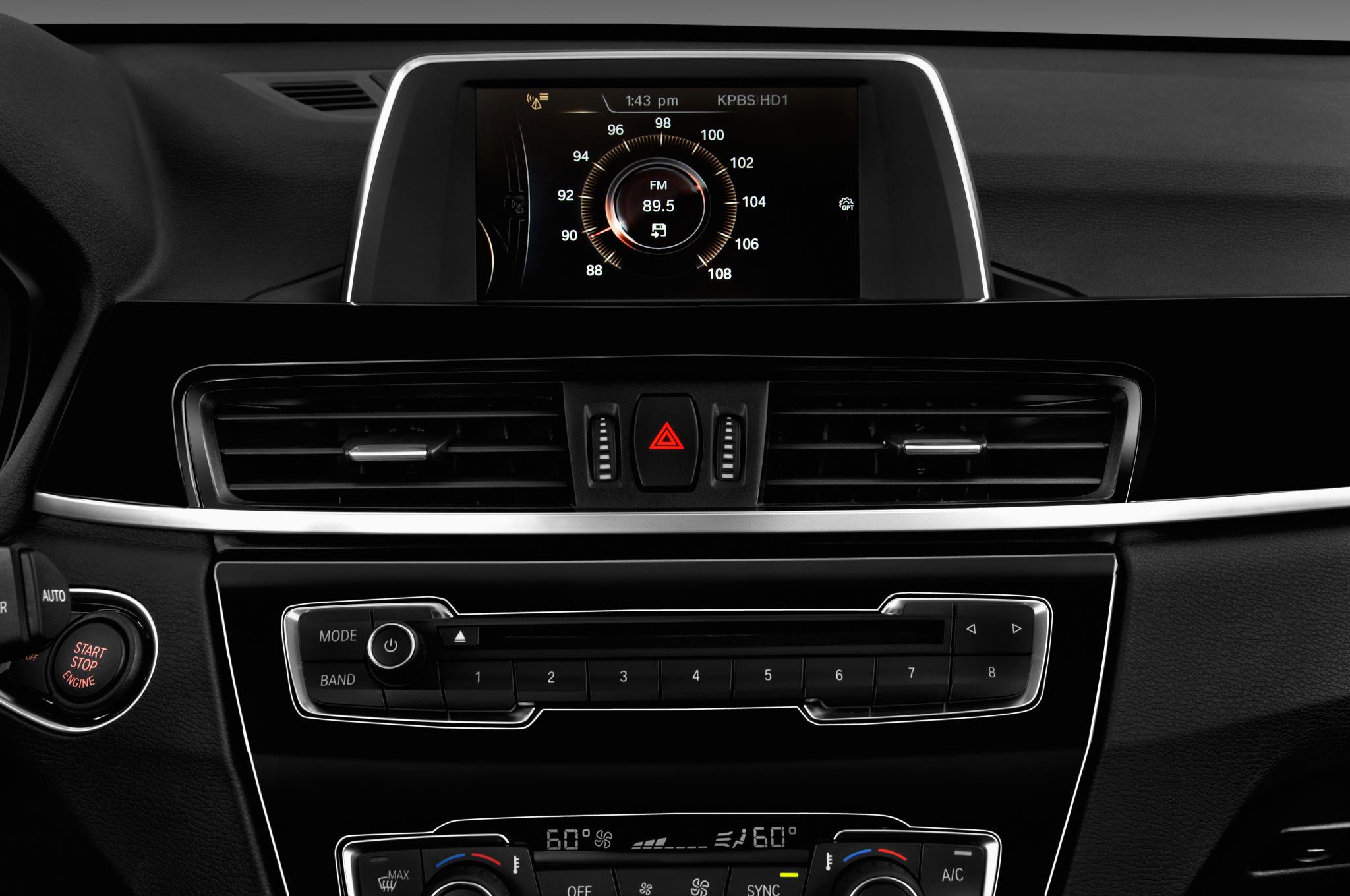 2017 Bmw X1 Xdrive28i Suv Audio System